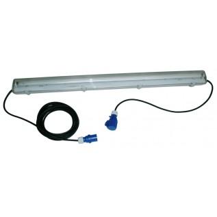 Kædearmatur 1x36w lysrør m 10+1m kabel