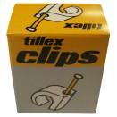Kabelclips - 7-10 mm rund ledning